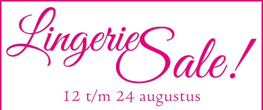 LingerieSale augustus gestart!