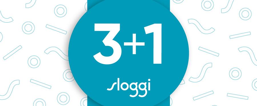 Sloggi najaarsactie 3 + 1