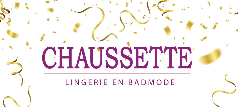 Chaussette is weer volledig open!