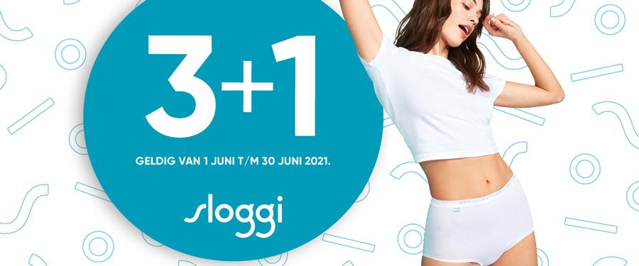 Juni is weer Sloggi maand!